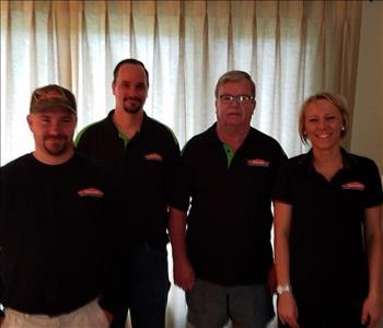 Crew of SERVPRO of South Elkhart County